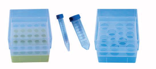 caixas polipropileno para tubos centrifuga