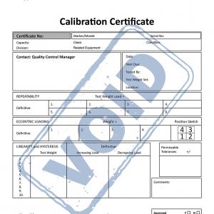 700660290 - Certificado de Calibração