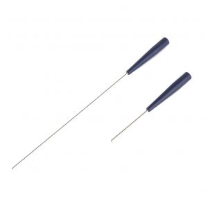 Pontas simples, 1 canal, aço inoxidável, 60 mm