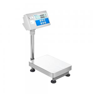 Balança de chão c/ impressão etiqueta BKT32-R 1