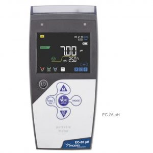 Medidor de pH Portátil EC-26 pH